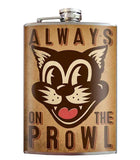 On the Prowl Flask 8 oz. Stainless Steel - The Atomic Boutique