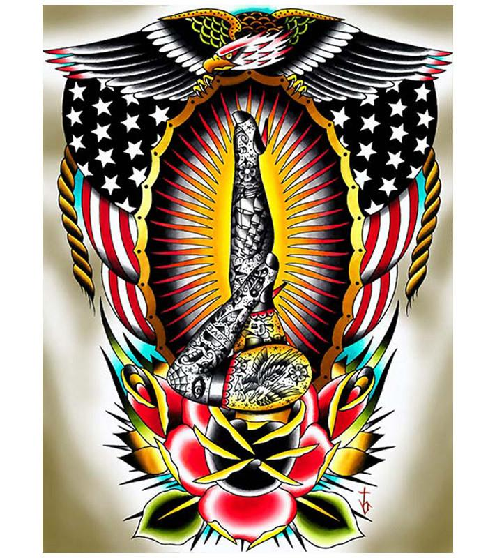 American Legs by Tyler Bredeweg Fine Art Giclee Canvas Print - The Atomic Boutique