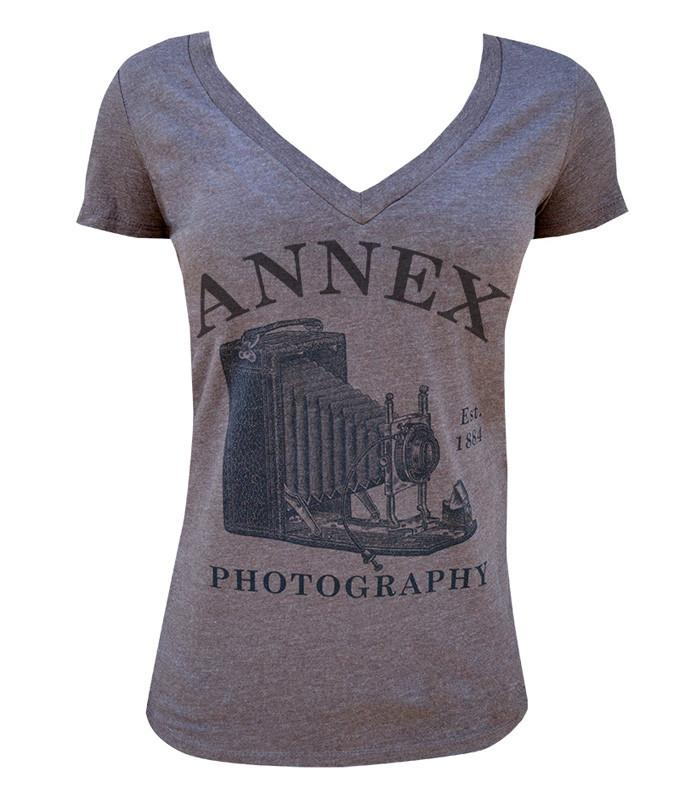 Photography Womens VNeck Tee - The Atomic Boutique