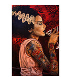 Bride Cocktail by Mike Bell Fine Art Giclee Canvas Print - The Atomic Boutique  - 1