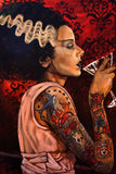 Bride Cocktail by Mike Bell Fine Art Giclee Canvas Print - The Atomic Boutique  - 2