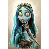 Blue Corpse Bride Fine Art Print - The Atomic Boutique