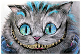 Cheshire Cat Art Print by Artist Manuela Lai - The Atomic Boutique  - 2
