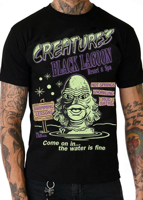 Creature of the Lagoon Mens T-Shirt