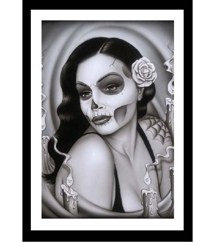 Day of the Dead Aria Fine Art Print - The Atomic Boutique