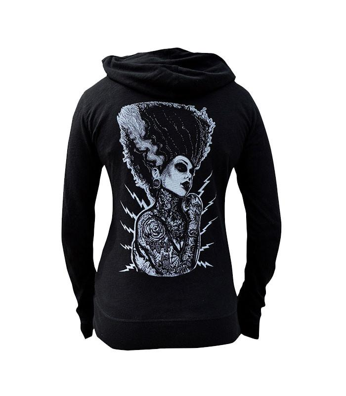 Lowbrow Art Company Demon Love Hoodie by artist Josh Stebbins - The Atomic Boutique  - 1