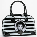 Edward Scissorhands Striped Handbag