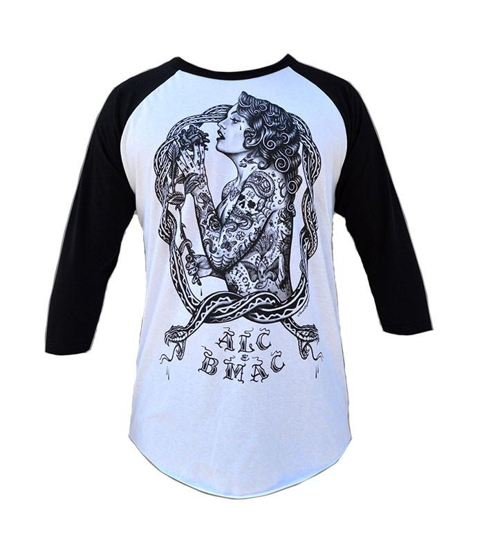 Eve Baseball Raglan Tee - The Atomic Boutique