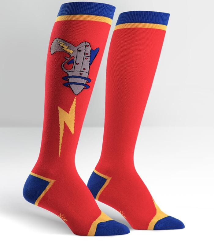 Ray Gun Knee High Socks - The Atomic Boutique
