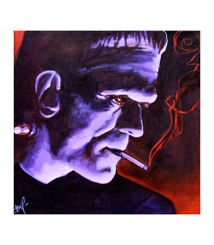 Franky by Mike Bell Fine Art Giclee Canvas Print - The Atomic Boutique  - 1