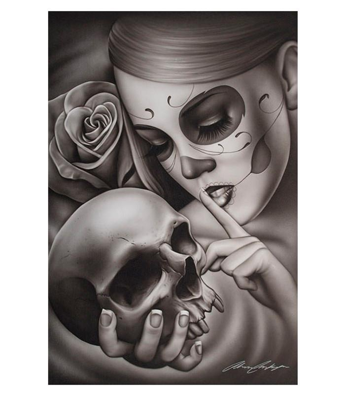 Hasta La Muerte Fine Art Print - The Atomic Boutique