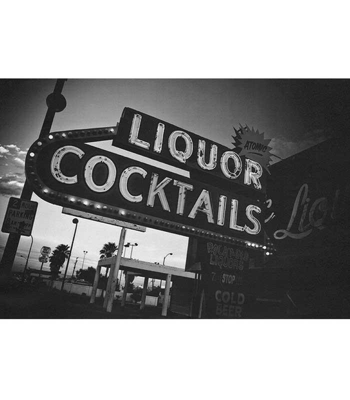 Las Vegas Liquor Fine Art Print - The Atomic Boutique