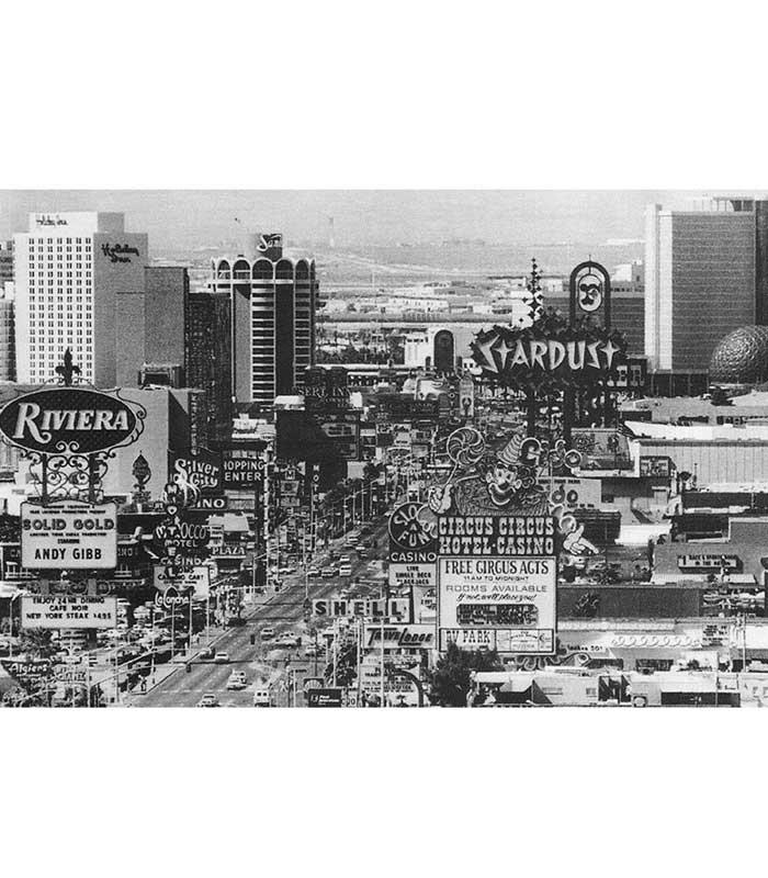 Las Vegas Strip Art Print - The Atomic Boutique