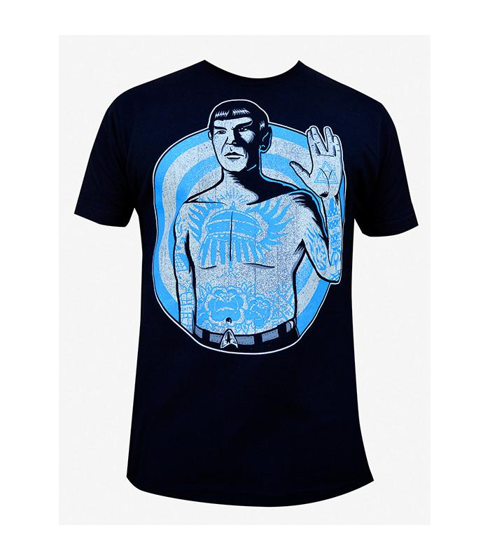 Live Long Mr Spock Mens Tee - The Atomic Boutique