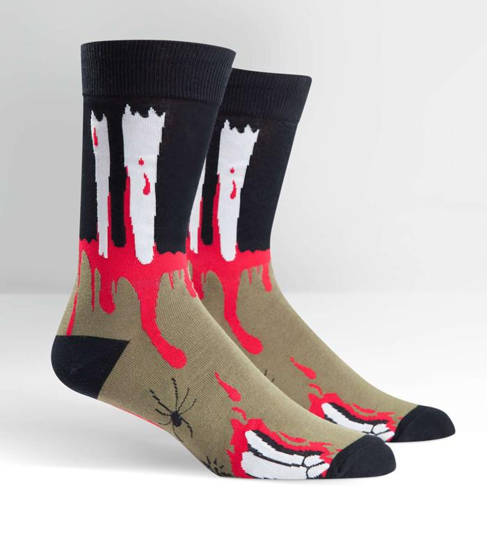 The Socking Dead Men's Crew Socks - The Atomic Boutique  - 1