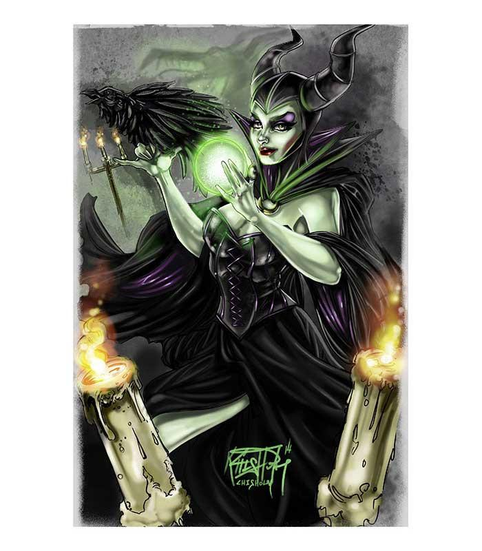 Dark Fairy Fine Art Print - The Atomic Boutique