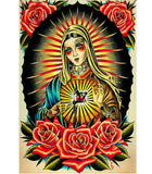 Faith Mary Fine Art Print - The Atomic Boutique