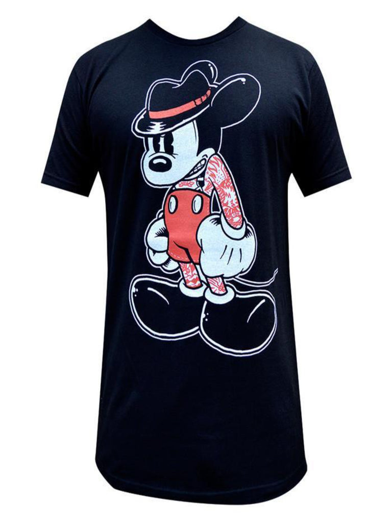 Mean Mickey Mouse Mens Tee - The Atomic Boutique