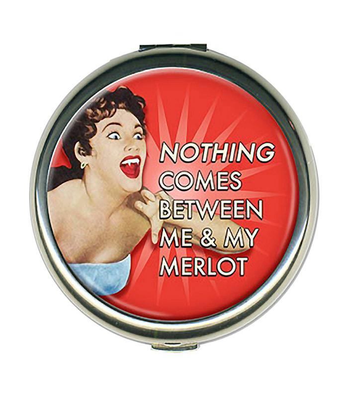 Retro Style Round Compact Mirror - The Atomic Boutique  - 1
