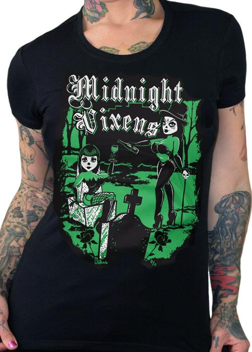 Midnight Vixens Women's Tee