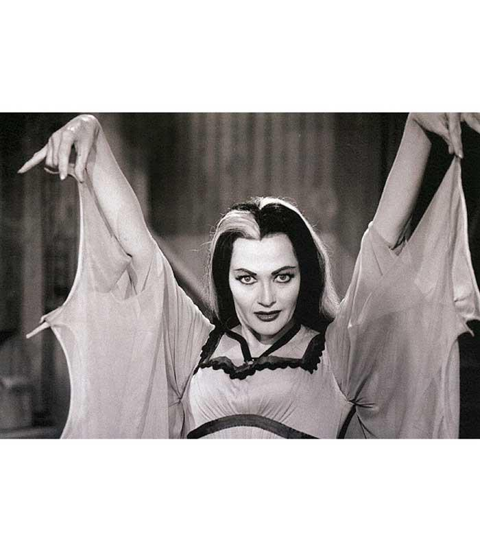 Lily Munster Fine Art Print - The Atomic Boutique