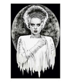 Monsters Bride Art Print by Artist Shayne of the Dead - The Atomic Boutique  - 1