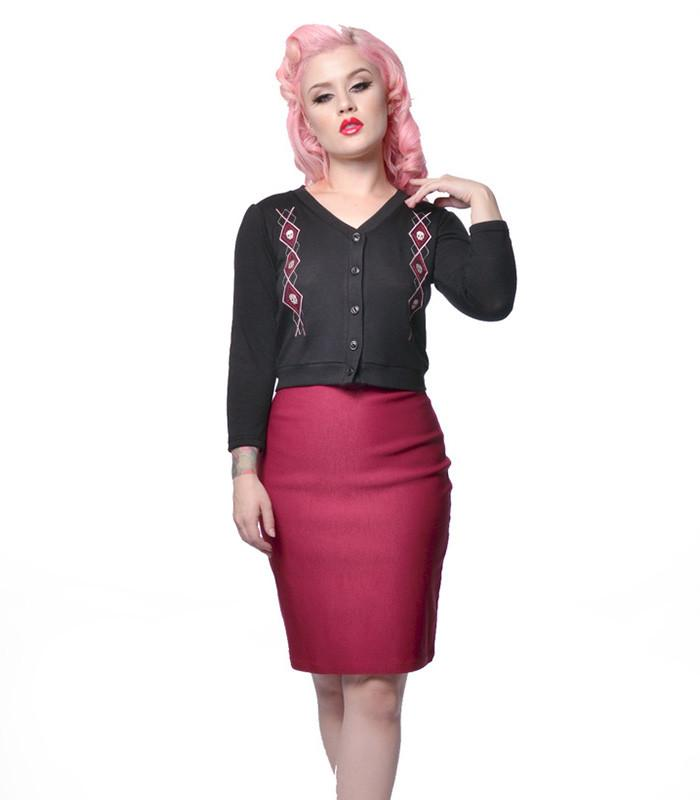 Steady Clothing Rock Steady Nikki Skirt - 3X Left - The Atomic Boutique