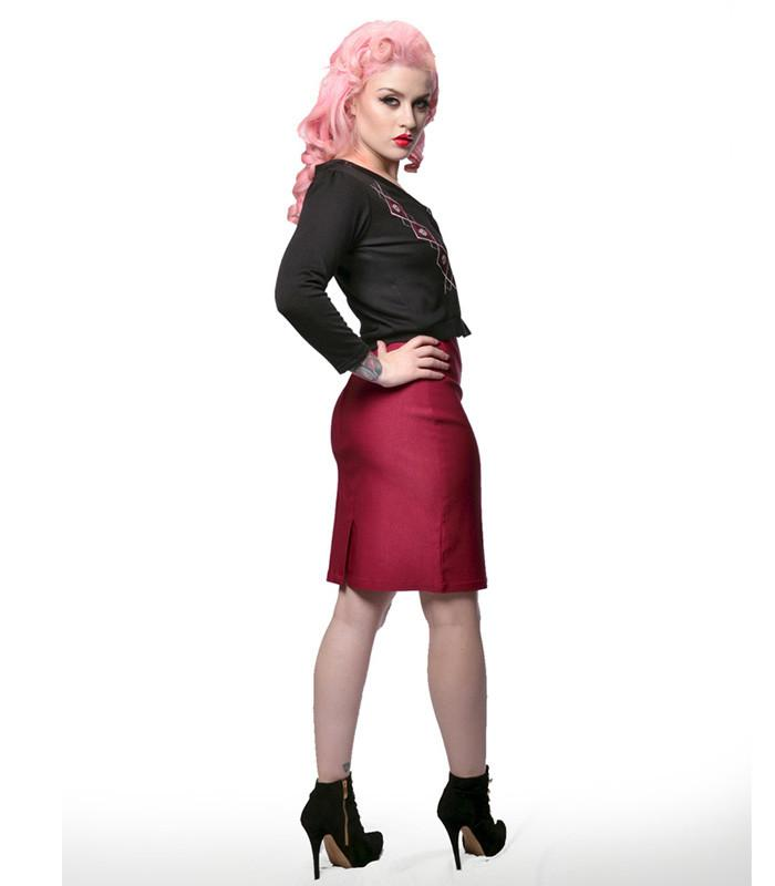 Steady Clothing Rock Steady Nikki Skirt - The Atomic Boutique  - 3