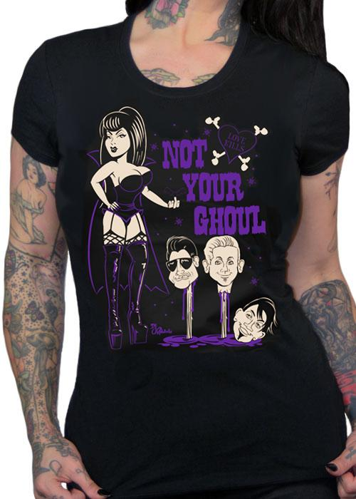 Not Your Ghoul Women's Fitted T-Shirt