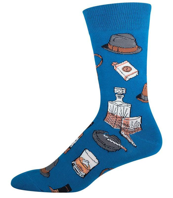 Socksmith Mens Vintage Fellow Crew Length Socks - The Atomic Boutique