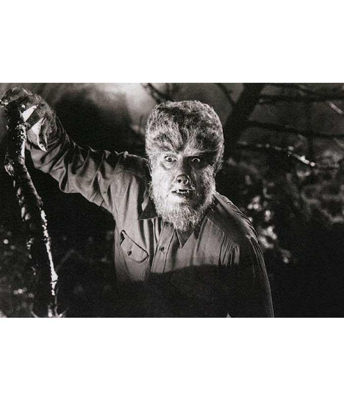 Wolfman On the Hunt Fine Art Print - The Atomic Boutique