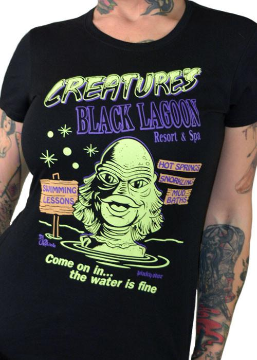 Creature of the Black Lagoon Women's Tee - The Atomic Boutique
