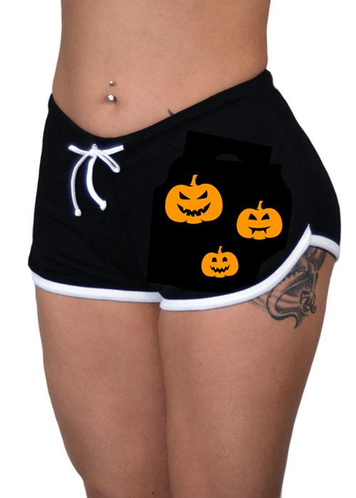 Pumpkin Patch Boy Shorts