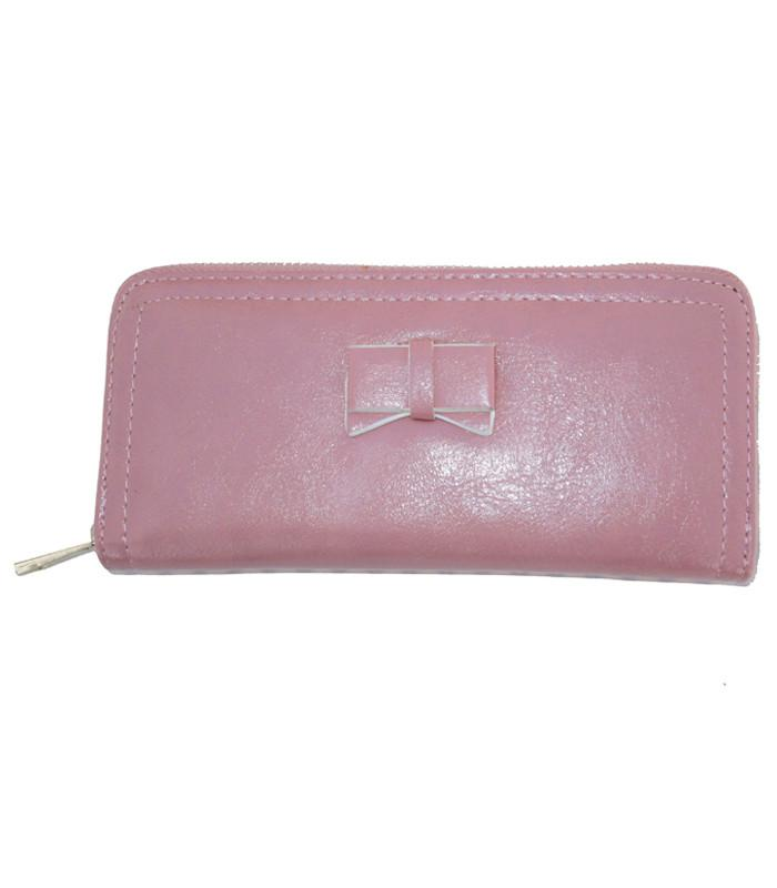 Pink Bow Wallet - The Atomic Boutique