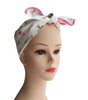 Pink Flamingo Fabric Head Wrap Scarf - The Atomic Boutique