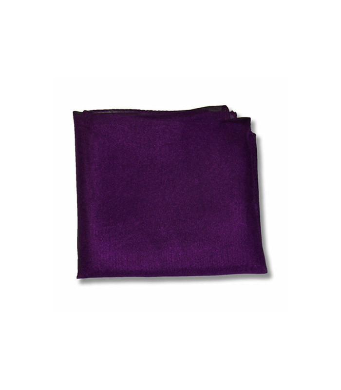 Dark Purple Retro Chiffon Scarf - The Atomic Boutique