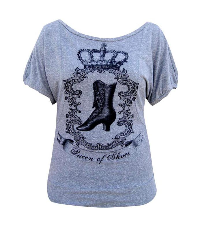 Queen of Shoes Women's Dolman Top by Annex Clothing - The Atomic Boutique