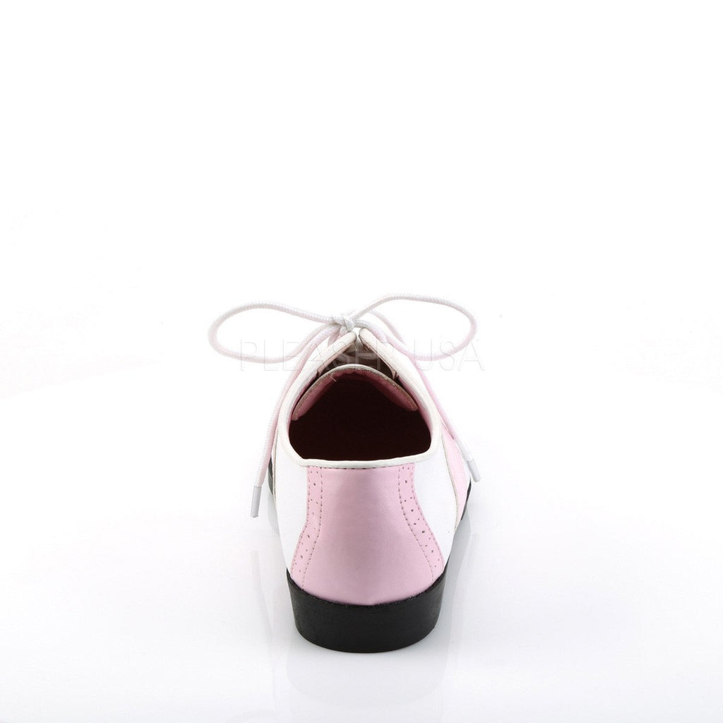 Funtasma Pink and White Saddle Shoes - The Atomic Boutique  - 3