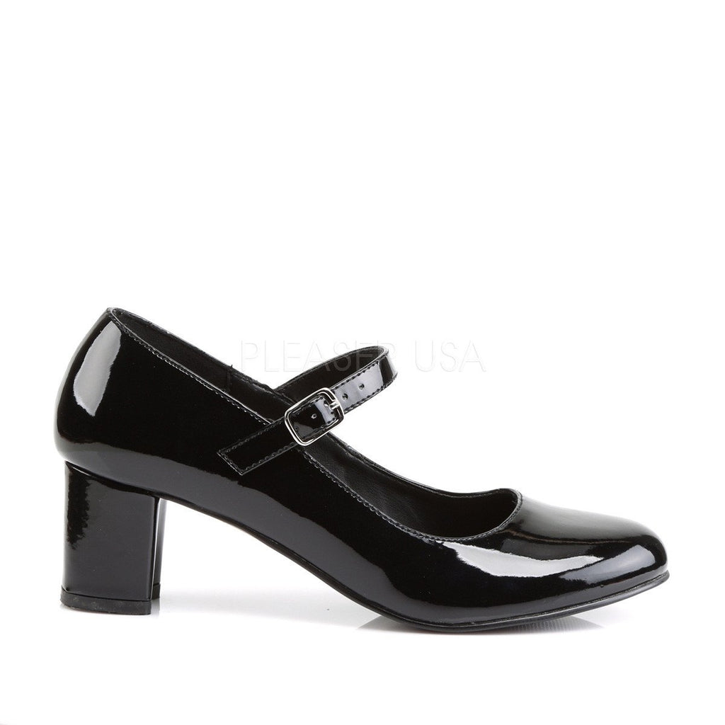 Funtasma Schoolgirl Mary Jane Black Pumps - The Atomic Boutique