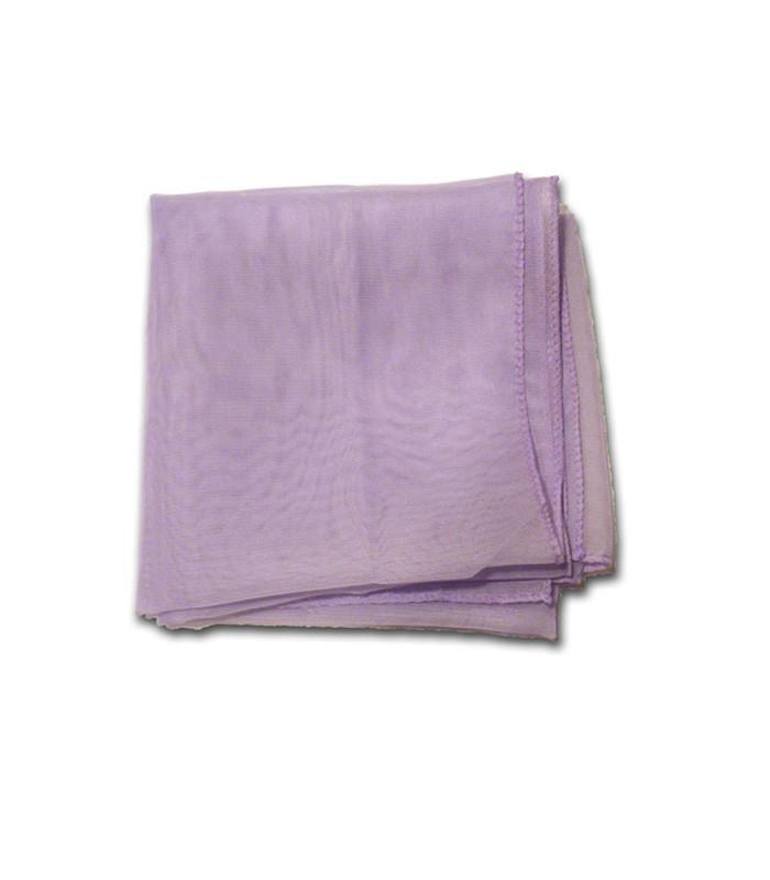 Light Purple Retro Chiffon Scarf - The Atomic Boutique  - 2