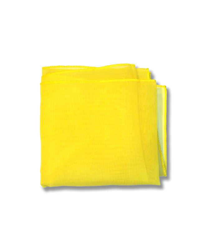 Yellow Retro Chiffon Scarf - The Atomic Boutique  - 2