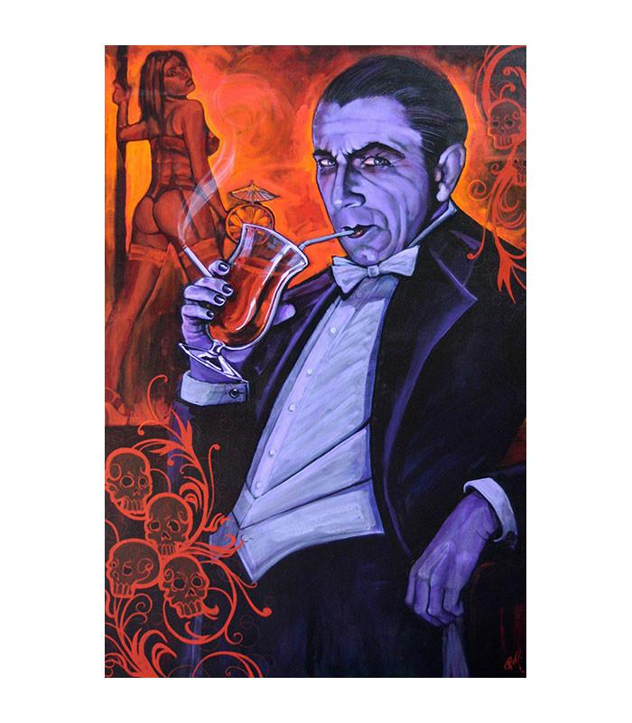 Lowbrow Art Company Smarmy Extraordinaire Art Print by Artist Mike Bell - The Atomic Boutique