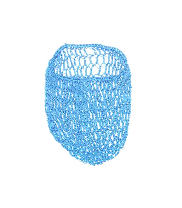 Light Blue Snood Hair Net - The Atomic Boutique