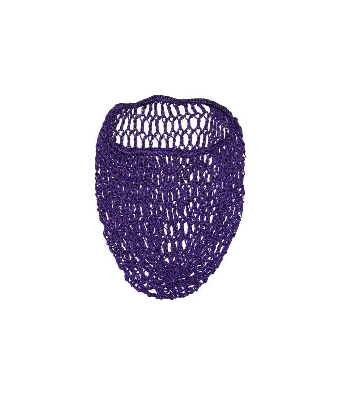 Purple Snood Hair Net - The Atomic Boutique
