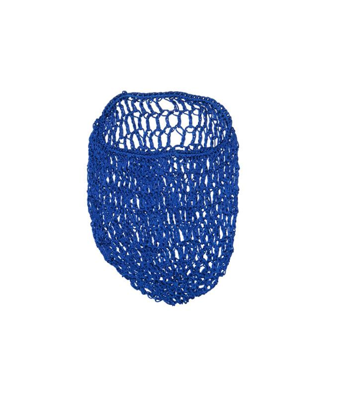 Royal Blue Snood Hair Net - The Atomic Boutique