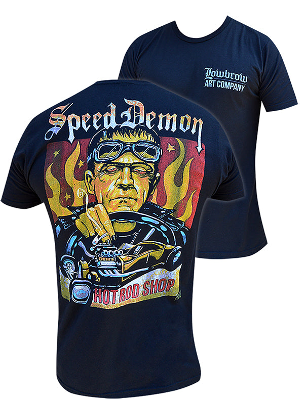 Frankenstein Speed Demon Mens TShirt