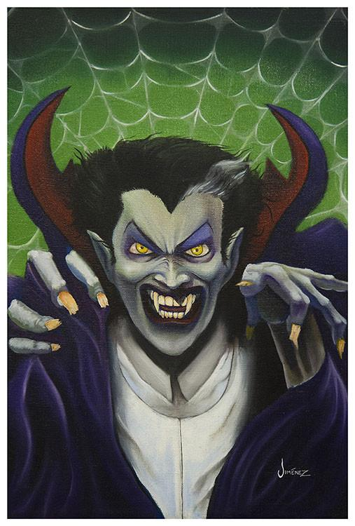 The Count Art Print by Artist Phil Graves - The Atomic Boutique