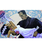Monster Wedding Art Print by Artist Mike Bell - The Atomic Boutique