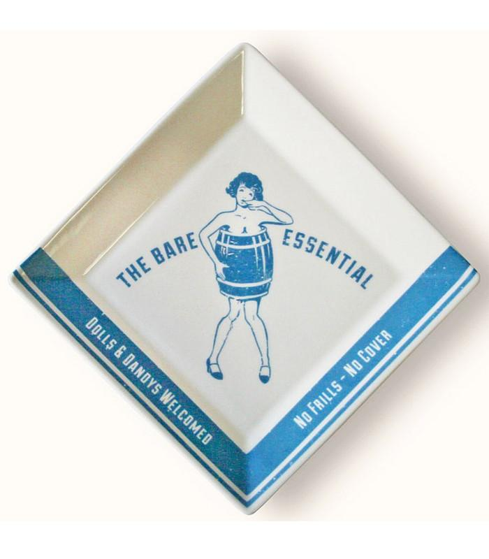 The Bare Essential Coaster/ Cocktail Napkin Tray - 1920's Prohibition - The Atomic Boutique