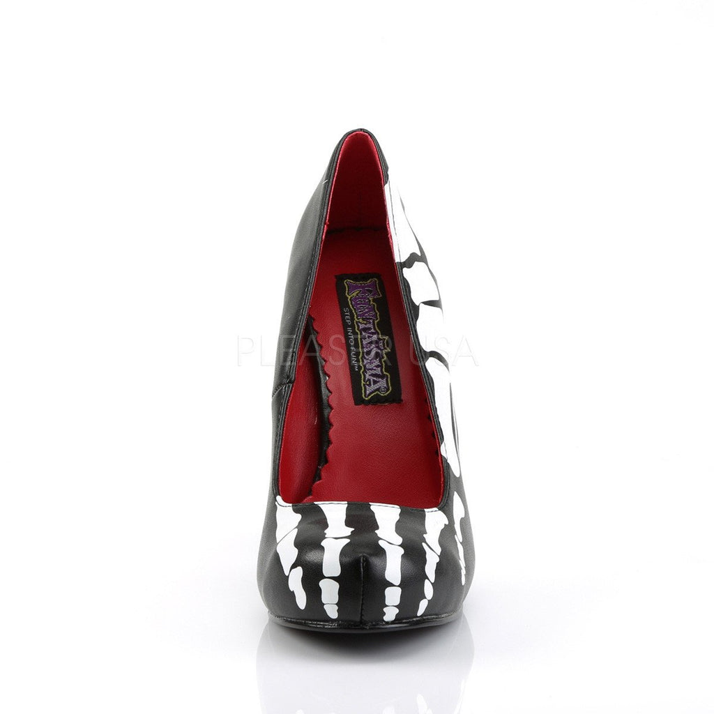 Funtasma Skeleton X-Ray Slip On Pumps - The Atomic Boutique  - 2